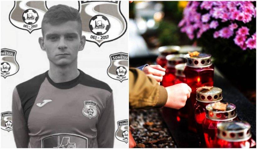 Portarul unei echipe de fotbal din Bistrița, mort după un grav accident rutier