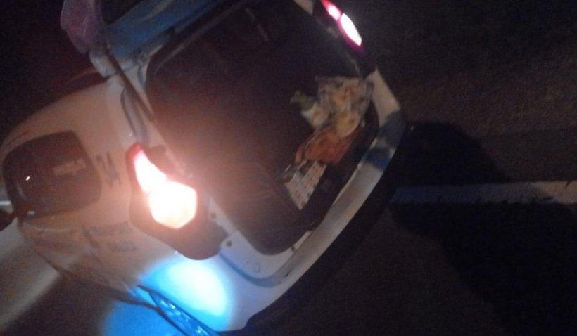 Șoferul unei ambulanțe private din Borșa, prins că făcea trafic cu țigări de contrabandă