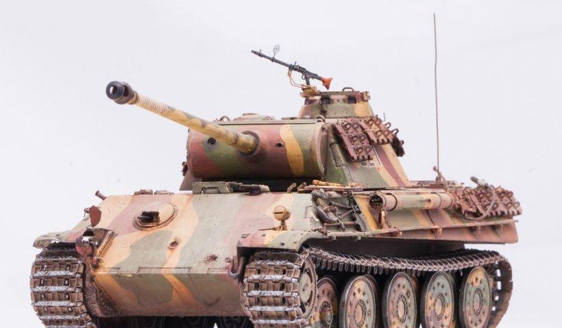 Pensionarul german care ținea un tanc în pivniță și-a aflat sentința