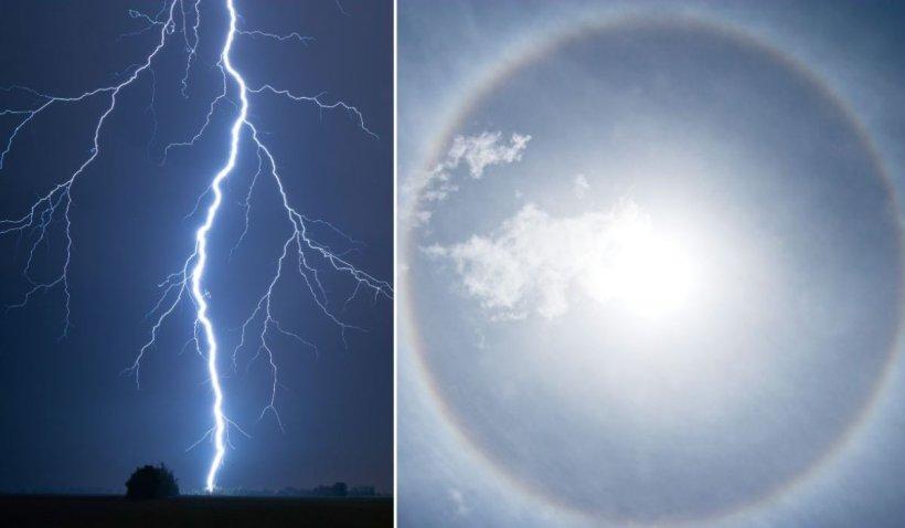 Alerte meteo ANM de furtuni, ploi puternice şi caniculă cu temperaturi de până la 40 de grade Celsius