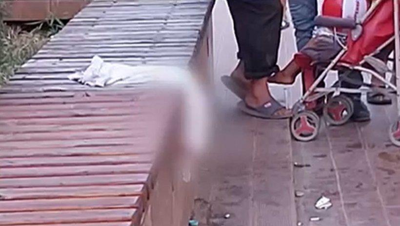 Un bărbat și o femeie, înjunghiați în plină stradă. Atacatorul este în libertate