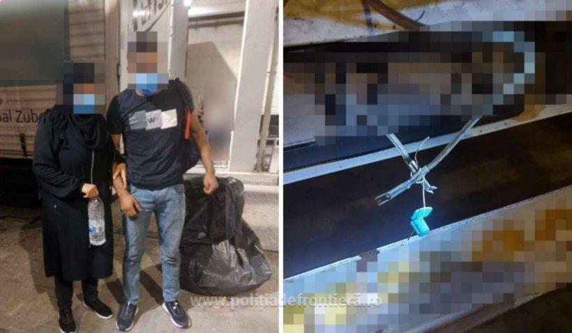 Doi migranți au încercat să treacă din Bulgaria în România înfășurați în folie de aluminiu și saci de plastic