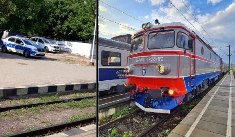 Un bărbat a murit în trenul Iași-București, în timp ce soţia sa credea că doarme