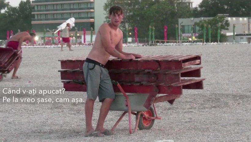Patronii plajelor, obligați să își strângă sezlongurile din Mamaia, dacă nu, vor fi distruse cu buldozerele