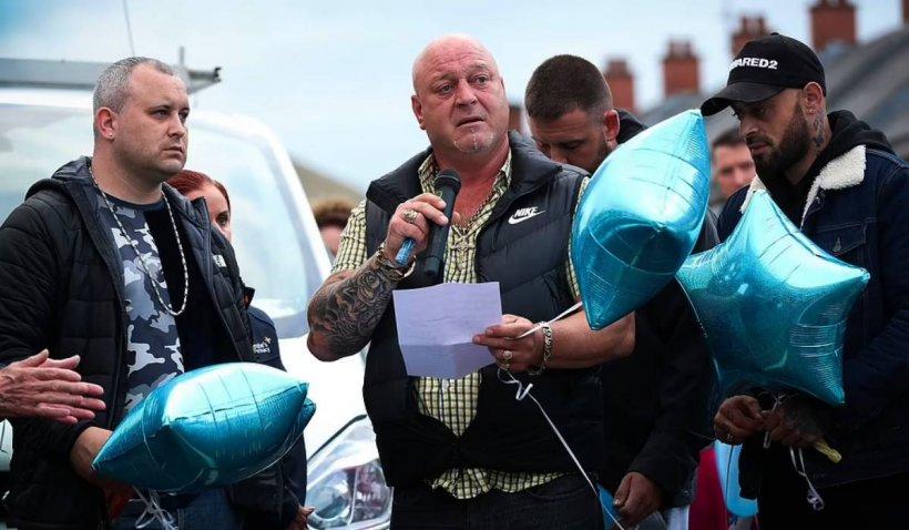 """""""Ne pregăteam de botez, am avut priveghi"""". Reacția tatălui bebelușului de opt săptămâni, ucis de mama româncă din Belfast"""