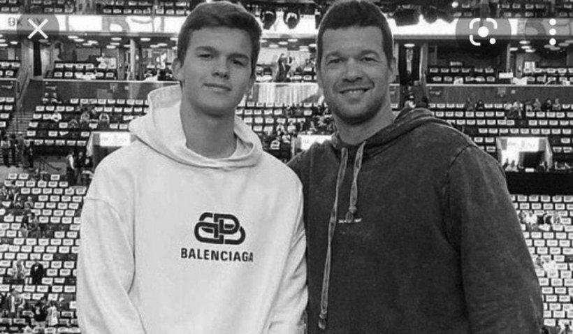 Emilio, fiul lui, Michael Ballack fostul mijlocaș al Chelsea, a murit într-un accident de ATV, în Portugalia