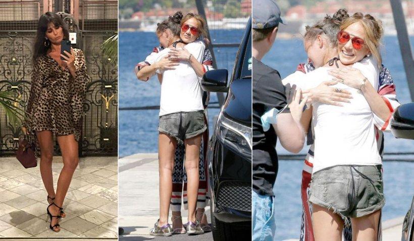 """Legătura dintre Dana Budeanu și Jennifer Lopez: """"Chiar mi-a purtat și niște rochii"""""""