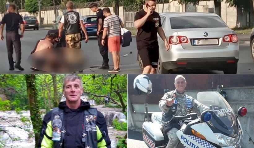 """El este motociclistul care a împins un tânăr cu trotinetă în faţa unei maşini, în Bucureşti: """"A vrut să îl oprească, nu să îl omoare"""""""