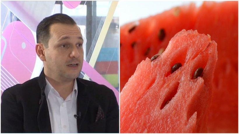 Pepenele roşu ne poate băga în spital. Medicul Radu Ţincu ne explică la ce risc ne expunem dacă nu îl spălăm