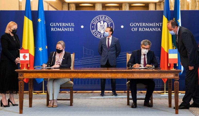 România și Canada au semnat memorandumul privind consolidarea și dezvoltarea domeniului nuclear