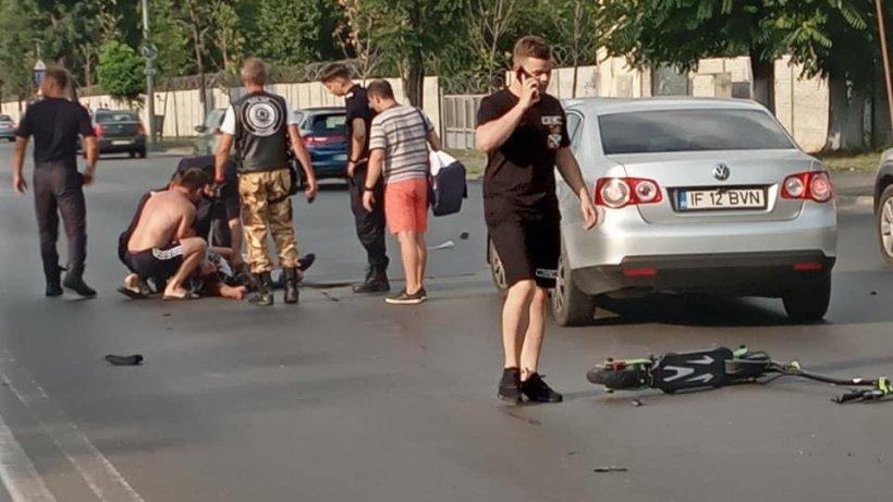 Un tânăr aflat pe trotinetă, omorât după o șicanare în trafic, în București