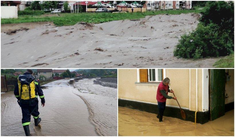 Alertă hidrologică! A fost emis un cod galben de inundații pe mai multe râuri din nordul, centrul și sudul țării