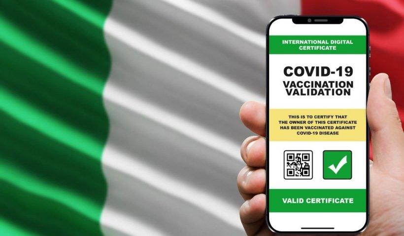 Certificatul verde a crescut miraculos dorința italienilor de a se vaccina. Creștere de 200% în unele localități a trendului de vaccinare