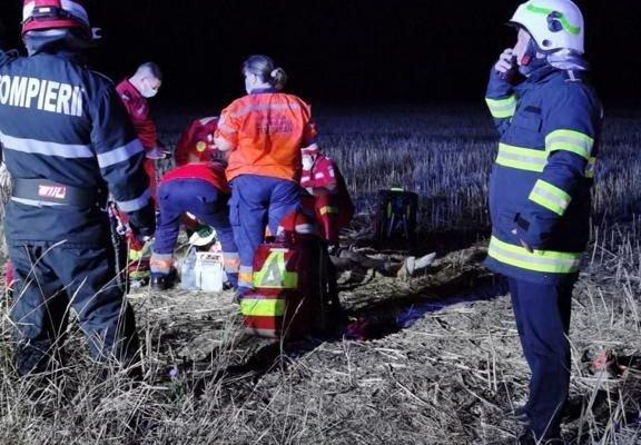 Tânăr de 23 de ani mort după ce maşina pe care o conducea a sărit peste un gard, în Iași. Avea capul zdrobit, familia l-a recunoscut după haine