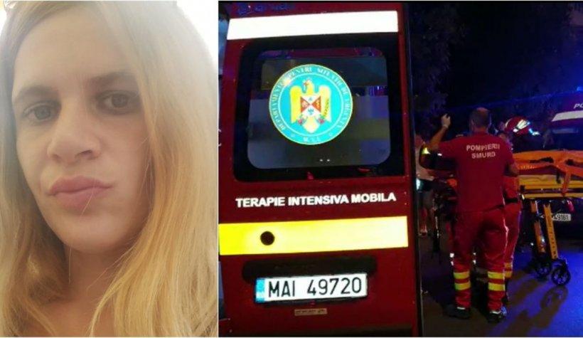 Ea e Andreea, mama gemenilor care au căzut de la etajul 10 al unui bloc din Ploieşti, în timp ce ea făcea LIVE pe Facebook