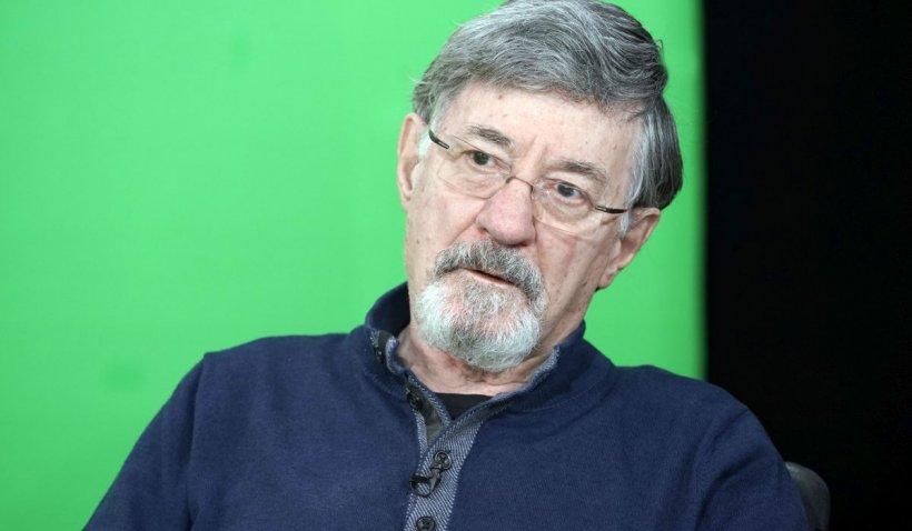 """Actorul Ion Caramitru, internat în spital. """"Nu vreau să cred că suntem năpăstuiţi de soartă"""""""