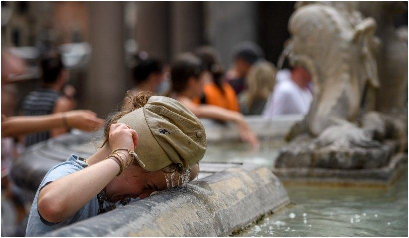 """În Italia au fost atinse temperaturi record alimentate de anitciclonul """"Lucifer"""""""