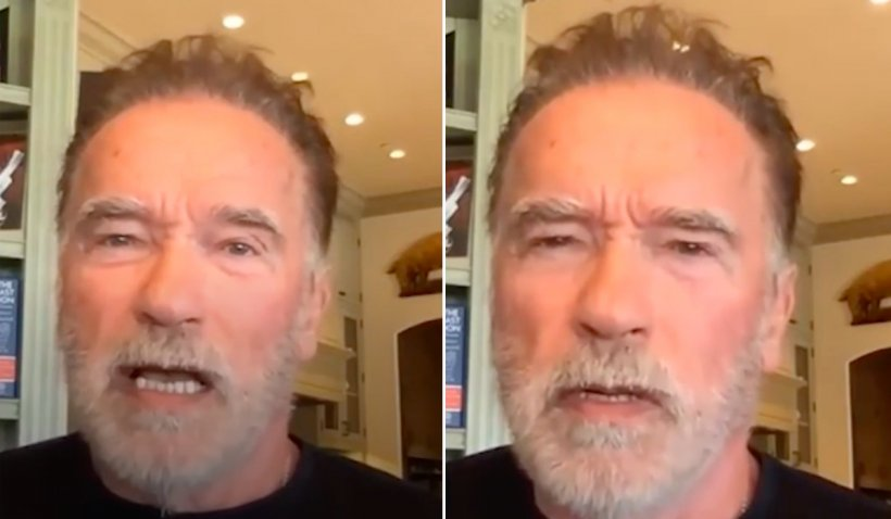 """Arnold Schwarzenneger a răbufnit la adresa celor care nu poartă mască de protecție: """"La naiba cu libertatea ta!"""""""