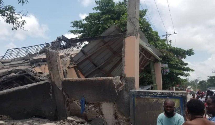Cutremur major, de 7,2 grade, în Haiti. Sute de morți, confirmați la câteva ore după dezastru. A fost decretată starea de urgență