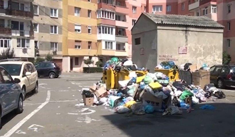 Alba Iulia, la un pas de stare de alertă din cauza gunoaielor