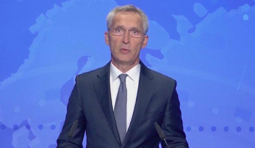 """Secretarul general al NATO: """"Nu am anticipat colapsul rapid al armatei naționale din Afganistan"""""""