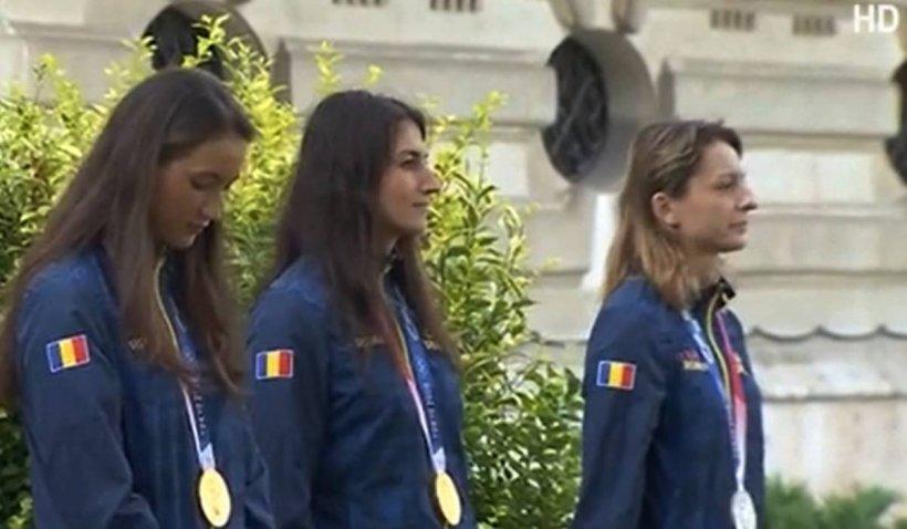 Președintele Klaus Iohannis a decorat sportivii români care au fost medaliați la Jocurile Olimpice de la Tokyo