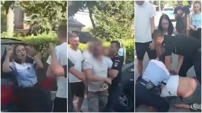 Bărbatul care a lovit și a înjurat o poliţistă în Botoșani, în arest la domiciliu