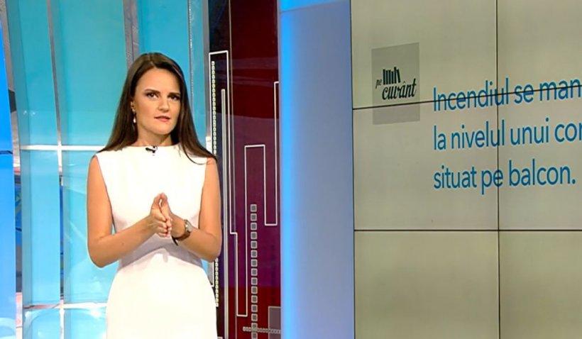 Limbajul de specialitate folosit în presă. Pe cuvânt, cu Ana Iorga