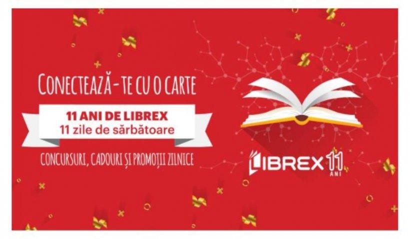 11 ani de LIBREX: surprize, transport în străinătate și o nouă carte mult așteptată