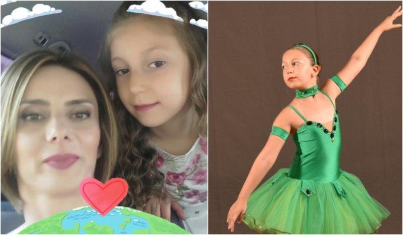 """""""Eşti înger acum, vei dansa în Rai"""". Alexia, fetiţa rănită în accidentul de tren de la Cluj a plecat spre cer după mama ei"""