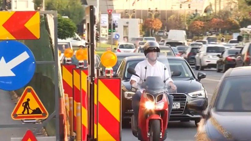 Restricţii de circulaţie în centrul Capitalei! Urmează trei săptămâni de haos în trafic