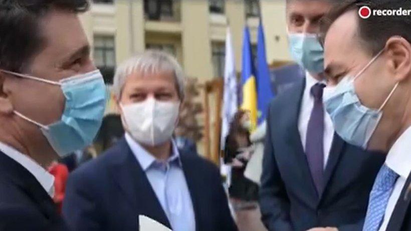 Filmare revoltătoare cu Nicușor Dan, Orban, Cioloș și Barna. Mihai Gâdea: Mi se pare extrem de grav!