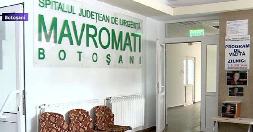 Inundaţie la cel mai mare spital din Botoşani. Apa a inundat saloanele de la toate etajele