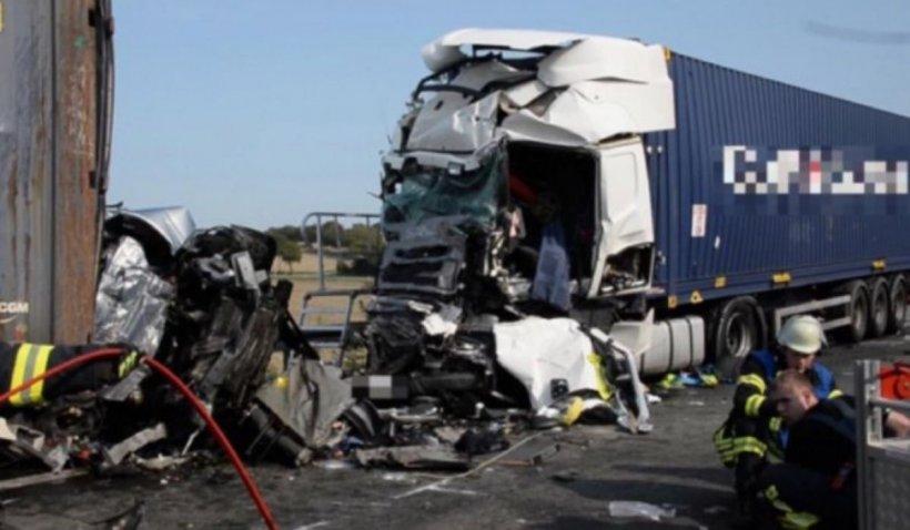 Pedeapsă revoltătoare pentru un șofer de TIR după ce a omorât patru români într-un accident devastator, în Germania
