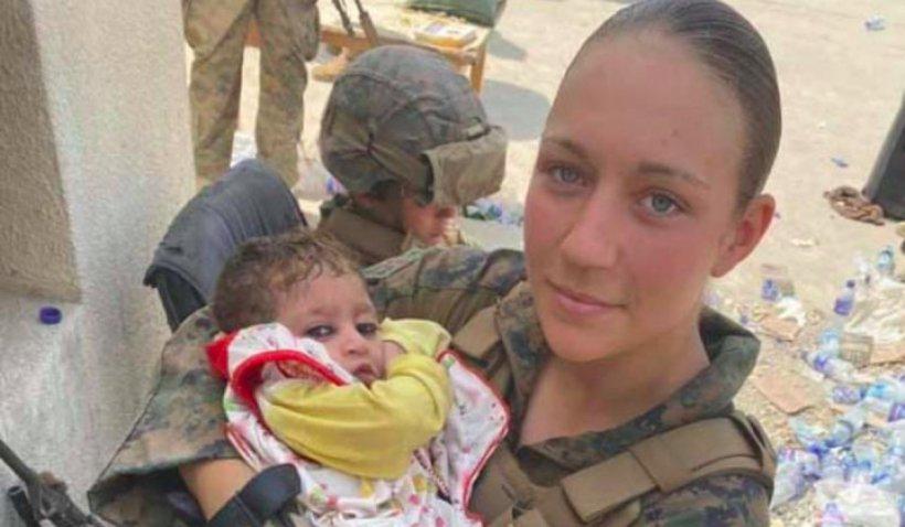 Ea este unul dintre militarii americani uciși în atentatul de la Kabul: Nicole Gee avea doar 23 de ani și îngrijea bebelușii afgani salvați pe aeroport
