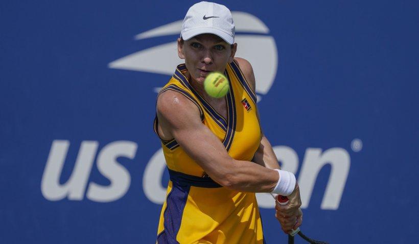 Simona Halep s-a calificat în turul al doilea la US Open 2021. Mesajul jucătoarei de tenis, după victorie