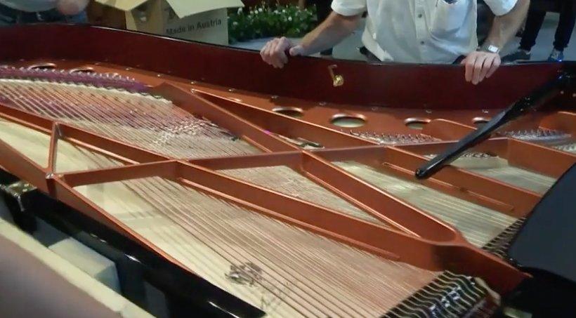 Spectacol inedit, cu 4 piane, în cadrul Festivalului George Enescu, la Sala Palatului