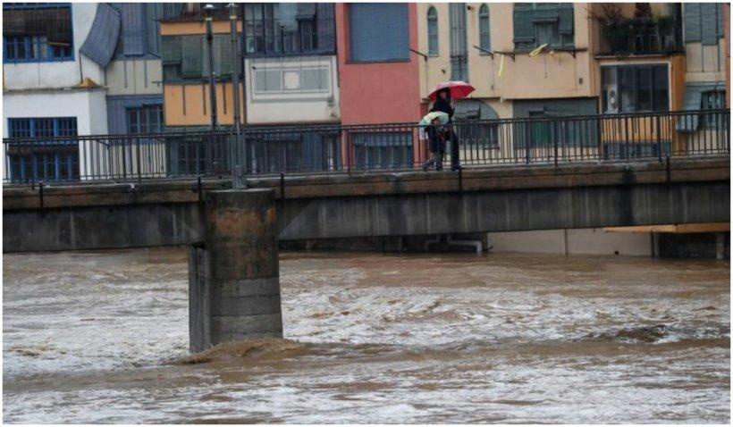 O furtună a făcut ravagii în Madrid: Cod galben de precipitaţii şi furtuni în Spania