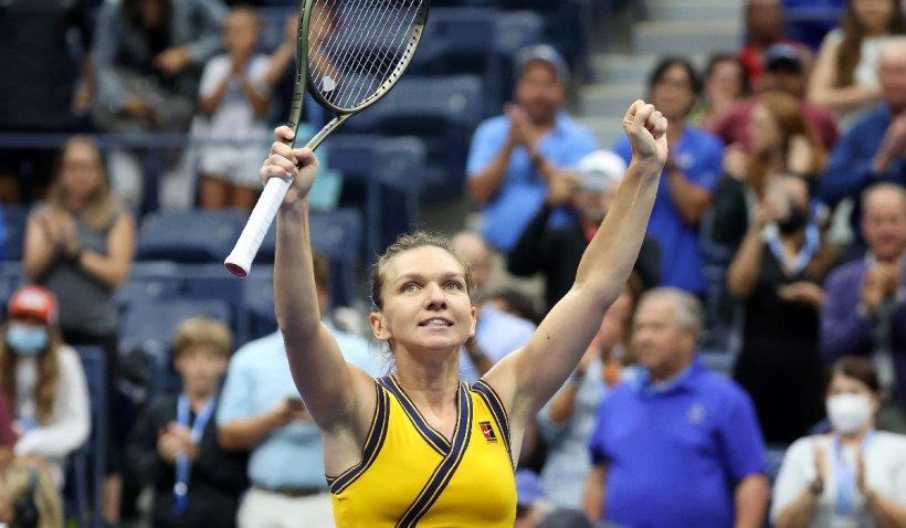 """Simona Halep s-a calificat în turul 3 la US Open: """"Am fost puțin norocoasă azi"""""""