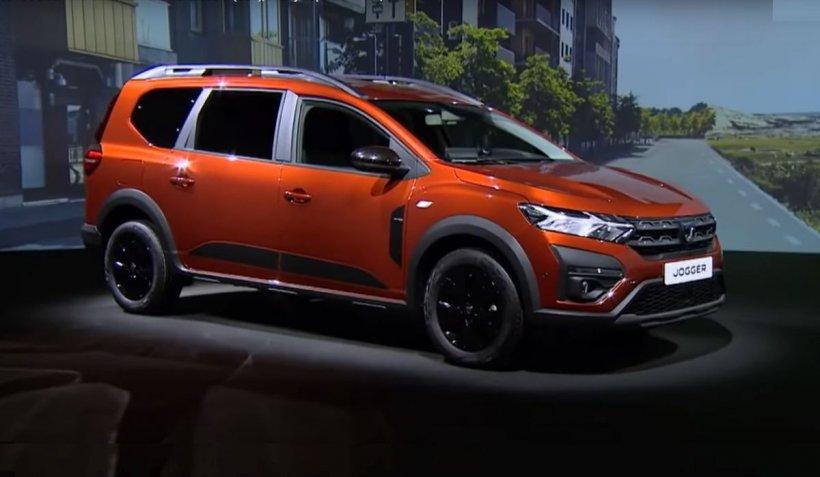 Dacia Jogger, un model nou de maşină cu şapte locuri