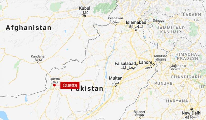 Trei oameni au murit într-un atac sinucigaș al talibanilor pakistanezi la Quetta, în apropiere de granița cu Afganistan