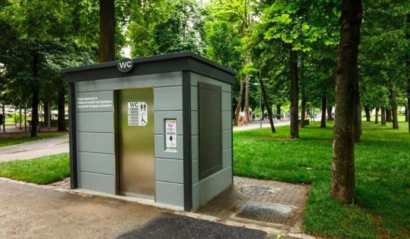 Toalete publice noi, în Cluj-Napoca, la preț de garsonieră