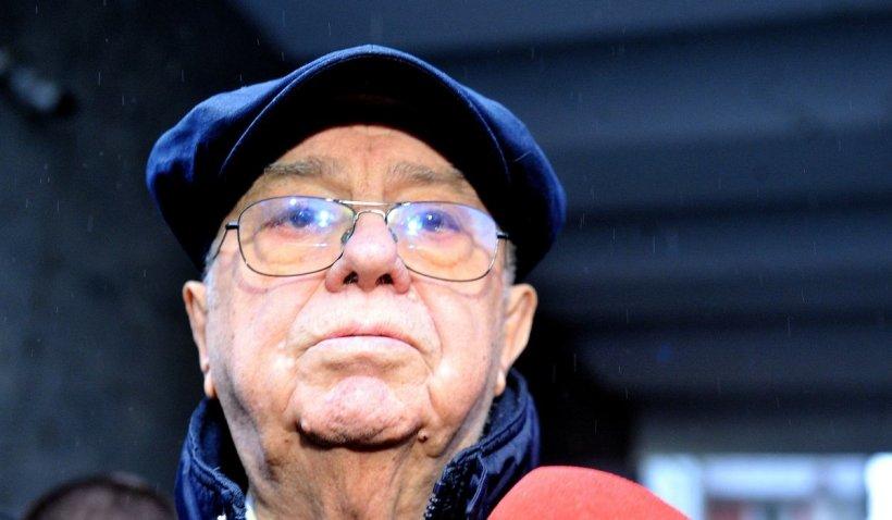 """Alexandru Arșinel, declarații după moartea lui Ion Caramitru: """"Nu sunt prea grozav cu sănătatea. Îmi aștept rândul și eu"""""""