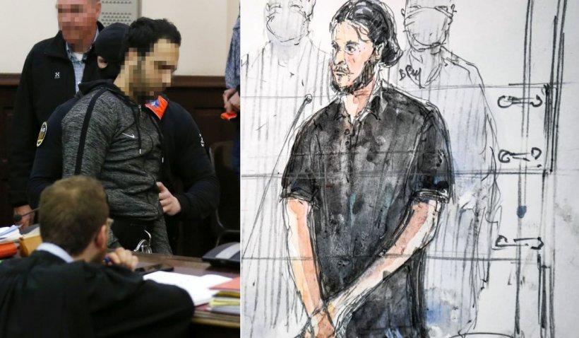 """Scandal la procesul teroriștilor de la Bataclan. Cel mai proeminent acuzat, Salah Abdeslam, a strigat la judecător: """"Nu ne mai tratați ca pe niște câini!"""""""