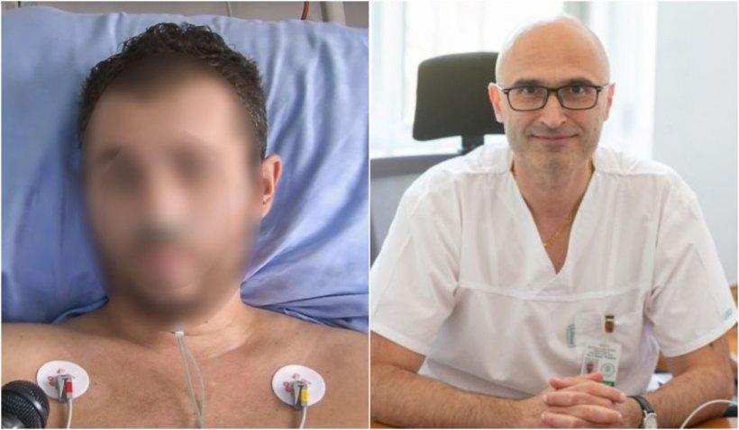 """Tânărul de 34 de ani readus la viață de medici pe patul de spital într-o lună, mort de COVID pe """"proprie răspundere"""", la Timișoara: """"Dumnezeu a făcut o minune"""""""