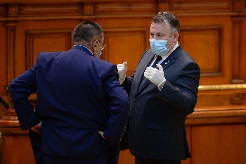 """Nelu Tătaru, din nou la Ministerul Sănătății. Cîțu: """"L-am rugat să meargă să gestioneze situația"""""""