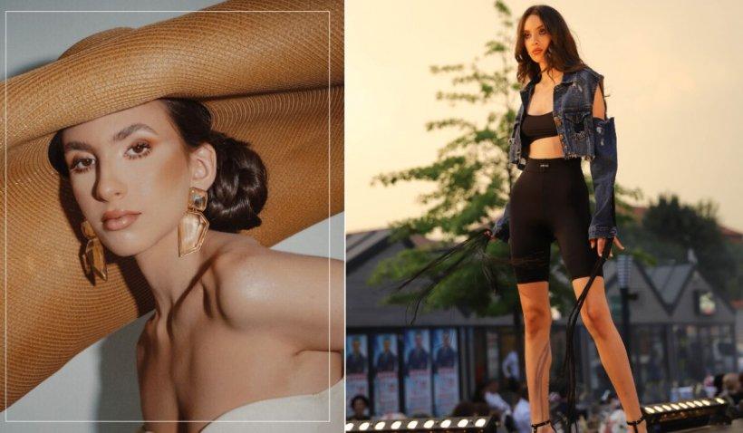 O româncă de 16 ani uimește lumea modei. Janine Minea, noua vedetă a podiumului