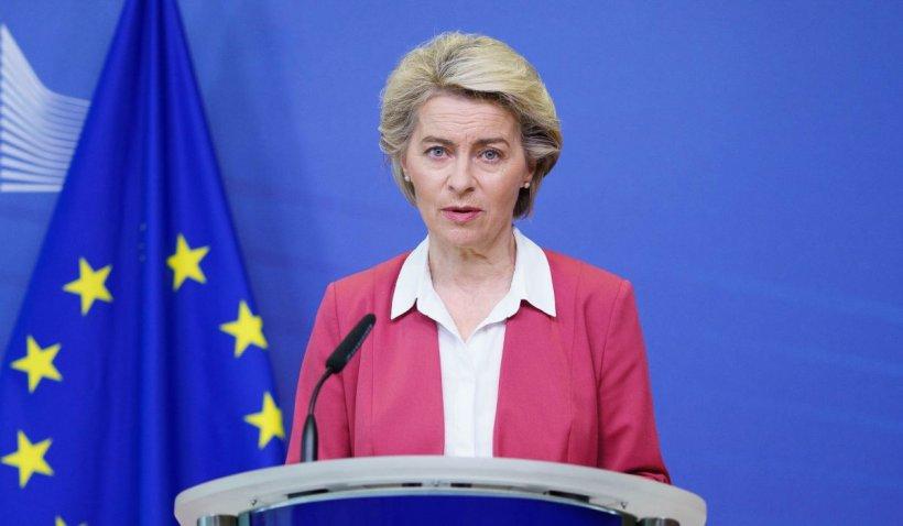 Ursula von der Leyen vine în România pentru a semna acordul pentru PNRR