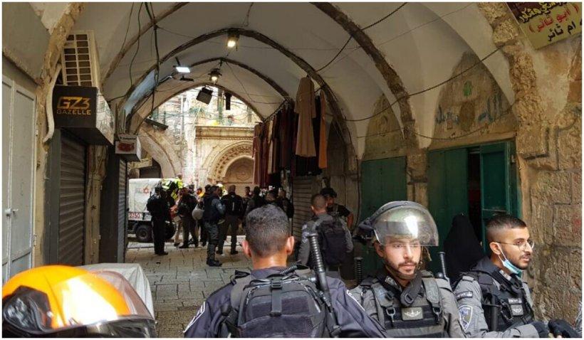 Un militant palestinian a încercat să comită un atac asupra unor agenți de poliție în Ierusalim