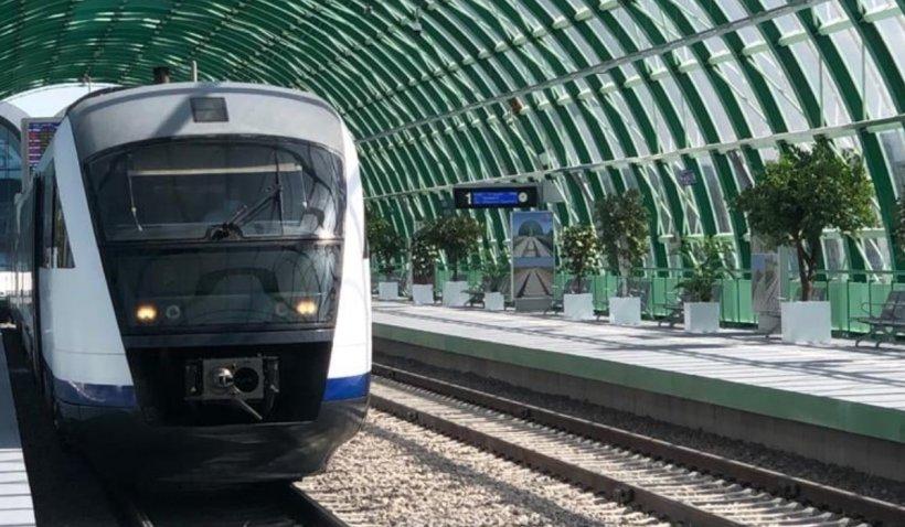 CFR Călători anunță restricții în circulația trenurile spre aeroport